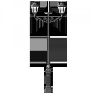 Купить чугунный фонарь 4 метра