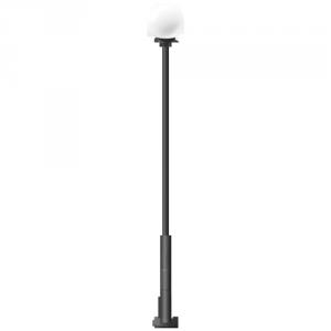 Стальной уличный фонарь Шар