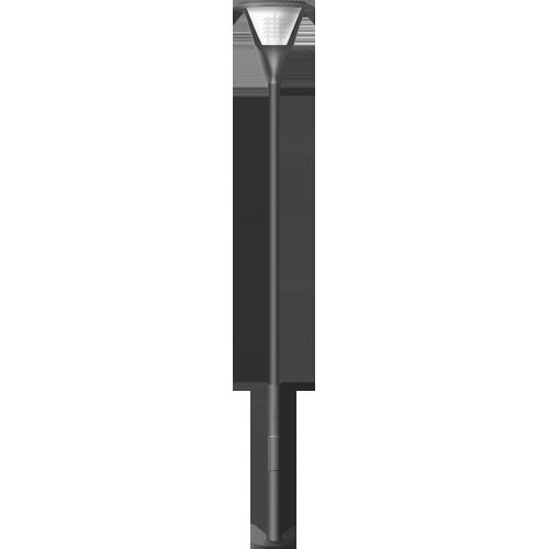 Стальной фонарь для загородного дома