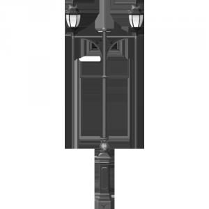 Купить чугунный фонарный столб 3 метра