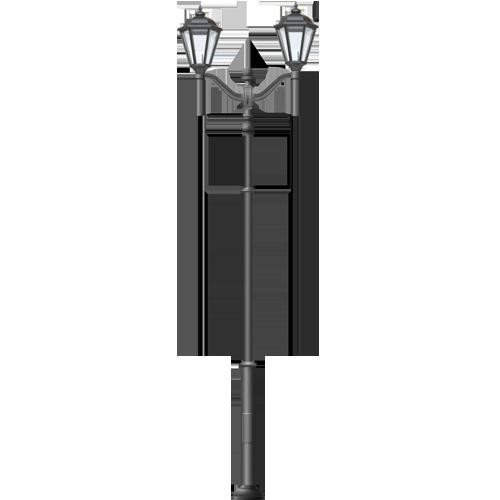 Купить уличный фонарь до 4 м