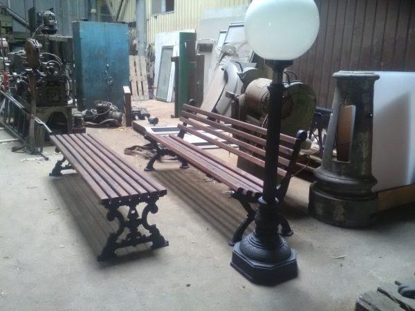 Скамейка на производстве