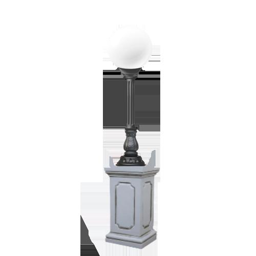 Купить наземный фонарь для улицы 1100 мм