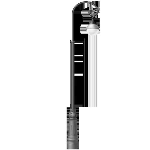 Купить садово-парковый фонарь в Москве