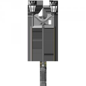 Садовый фонарный столб до 3,5 м