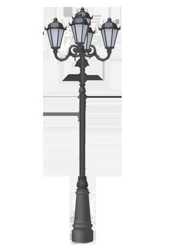 Купить фонарный столб до 7 метров