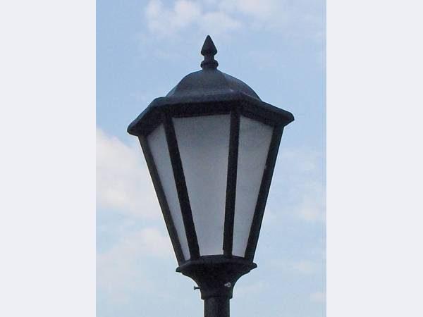 Уличный светильник для столба