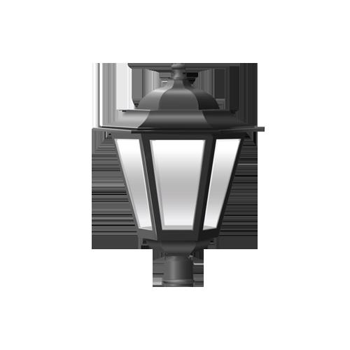 Купить светильник на столб