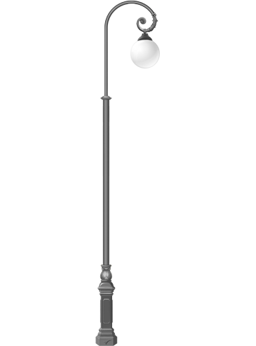 Купить уличный фонарь до 4500 мм