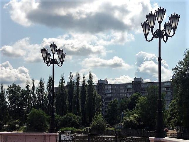 Фонари в Калининграде