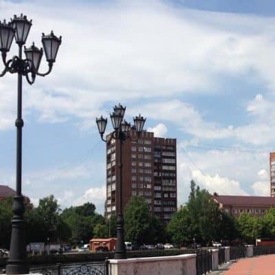Купить уличные фонари в Калининграде